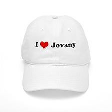 I Love Jovany Baseball Cap