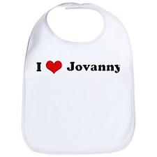 I Love Jovanny Bib