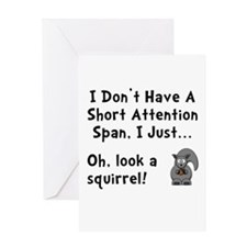 Short Attention Greeting Card