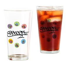 B-Buggz Orbitz III Drinking Glass