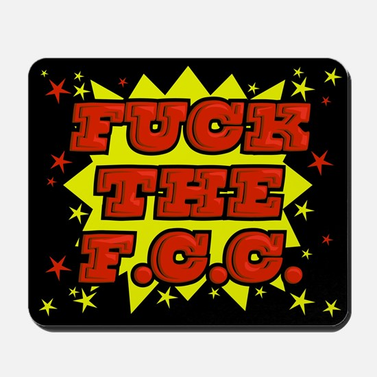 F the FCC Mousepad