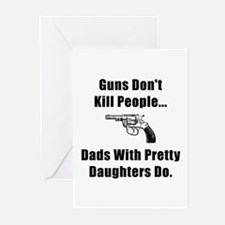 Dad Gun Greeting Cards (Pk of 10)