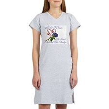 HEart Behind Women's Nightshirt