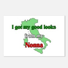 I got my good looks from my Nonna Postcards (Packa