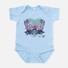 dancer forever by DanceShirts.com Infant Bodysuit