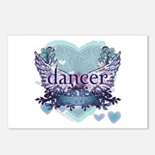 dancer forever by DanceShirts.com Postcards (Packa