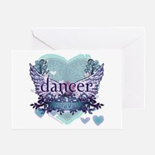 dancer forever by DanceShirts.com Greeting Card