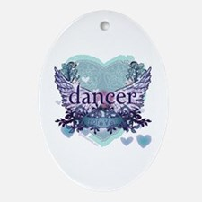 dancer forever by DanceShirts.com Ornament (Oval)