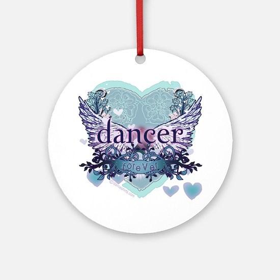 dancer forever by DanceShirts.com Ornament (Round)