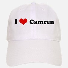 I Love Camren Baseball Baseball Cap