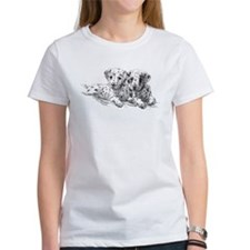 Dalmation Puppies Tee