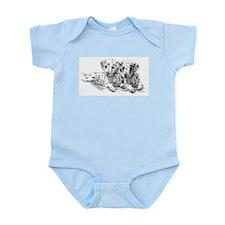 Dalmation Puppies Infant Bodysuit