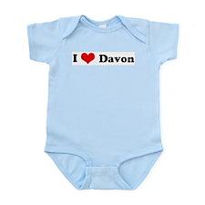 I Love Davon Infant Creeper