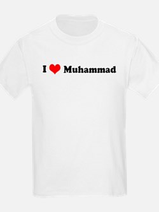 I Love Muhammad Kids T-Shirt
