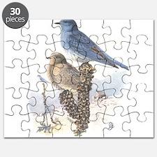 Mountain Bluebird Puzzle