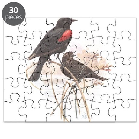 Red-winged Blackbird 2 Puzzle