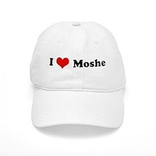 I Love Moshe Baseball Cap
