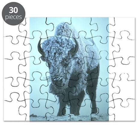 American Bison (buffalo) 3 Puzzle