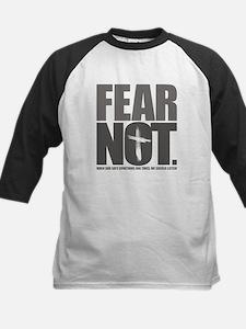 Fear Not. Kids Baseball Jersey
