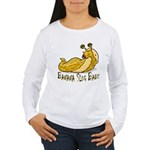 Banana Slug Babe Women's Long Sleeve T-Shirt