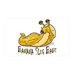 Banana Slug Babe 38.5 x 24.5 Wall Peel