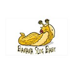 Banana Slug Babe 38.5 x 24.5 Wall Peel