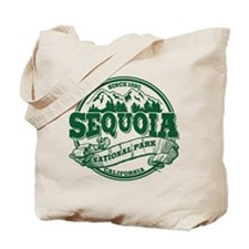Sequoia Old Circle Green Tote Bag