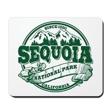 Sequoia Old Circle Green Mousepad