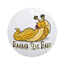 Banana Slug Babe Ornament (Round)