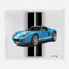 New Racing Car Throw Blanket
