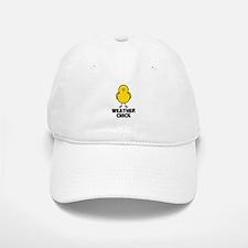 Weather Chick Baseball Baseball Cap