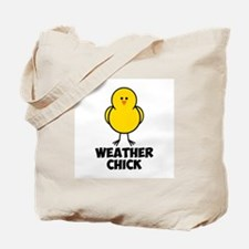 Weather Chick Tote Bag