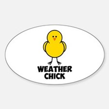 Weather Chick Decal