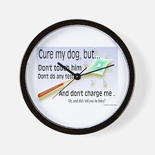 Cure My Dog Wall Clock