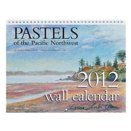 Laura Luke Olsen Pastels 2013 Calendar