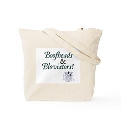 Jane Austen Boofheads and Bloviators Tote Bag