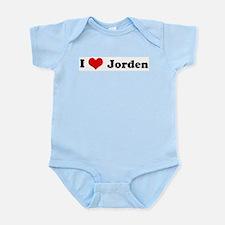 I Love Jorden Infant Creeper