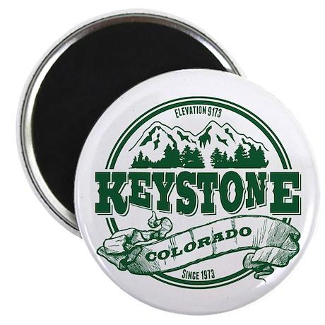 Keystone Old Circle 2 Green Magnet