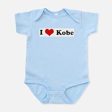I Love Kobe Infant Creeper