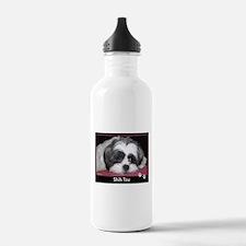 Shih Tzu Calendar Water Bottle