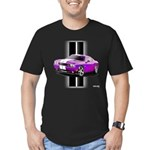 New Dodge Challenger Men's Fitted T-Shirt (dark)