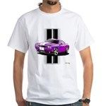 New Dodge Challenger White T-Shirt