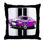 New Dodge Challenger Throw Pillow