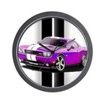 New Dodge Challenger Wall Clock