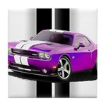 New Dodge Challenger Tile Coaster