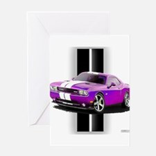 New Dodge Challenger Greeting Card