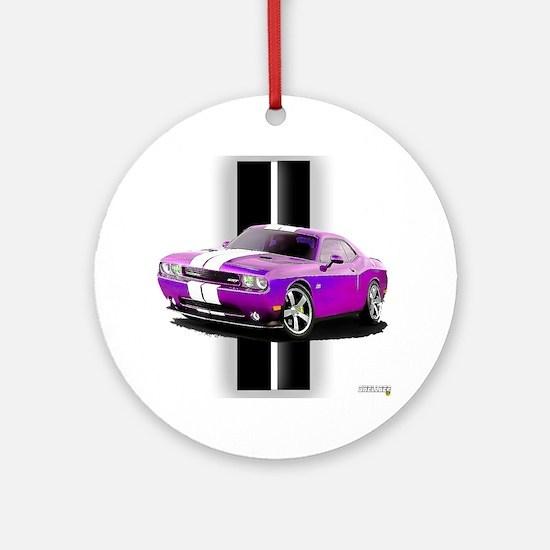 New Dodge Challenger Ornament (Round)