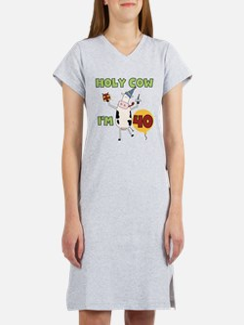 Cow 40th Birthday Women's Nightshirt