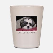 Cute Shih Tzu Dog Shot Glass