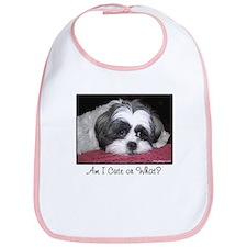 Cute Shih Tzu Dog Bib